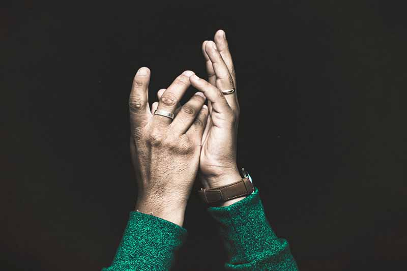 Picture of hands doing sign language